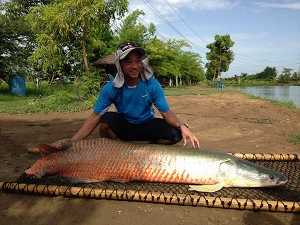 Arapaima fishing Amazon BKK2
