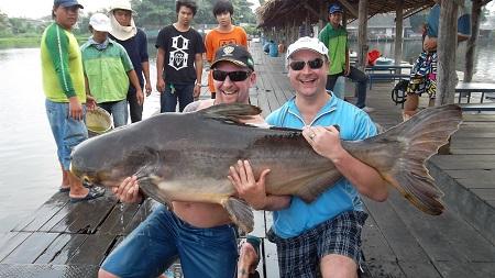 Mekong Catfish Fishing Bangkok