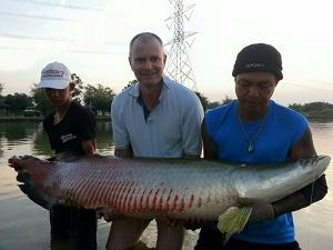 Thailand Arapaima fishing Amazon BKK 2
