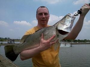 Barramundi fishing Bangkok