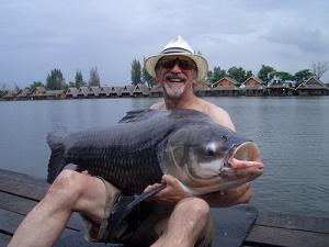 Carp Fishing in Bangkok