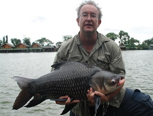 Carp and Catfish fishing Bungsamran Lake Bangkok