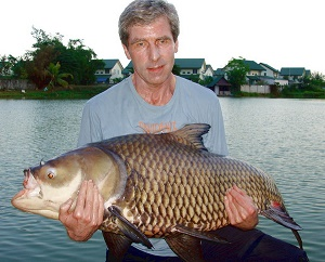 Carp fishing Thailand Palm Tree Lagoon