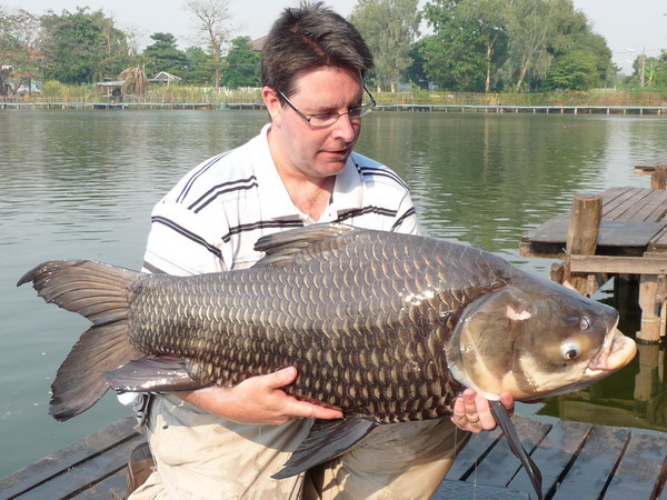 Carp fishing in Thailand