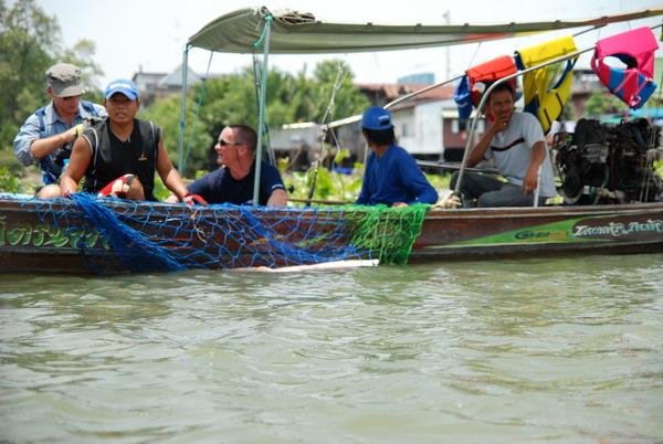 Jeremy Wade Giant freshwater stingray Thailand