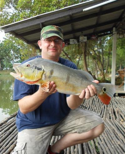Palm Tree Lagoon Thailand Fishing