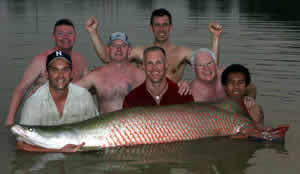 zeb hogan monster fish in thailand