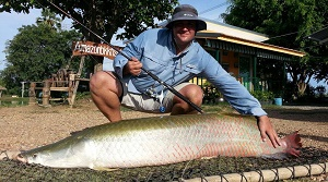 Arapaima fishing Bangkok 2014