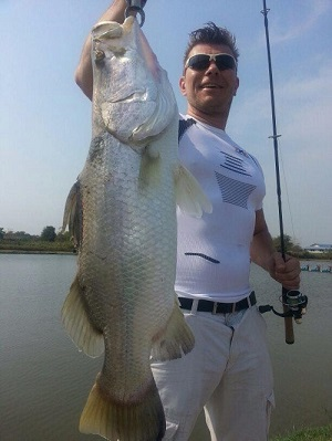 Barramundi fishing tour Thailand