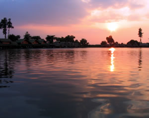 Bungsamran Lake Bangkok