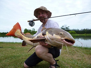 Fly fishing Thailand at IT Monsters