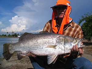 barramundi fishing with fishsiam