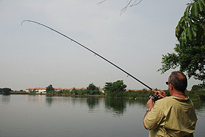 fishing at bung buk lake bangkok