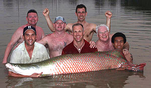 fishing for arapaima fishsiam