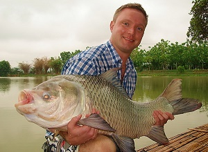Fishing Arapaima Palm Tree Lagoon