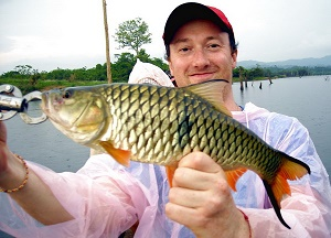 Fishing Giant Snakehead