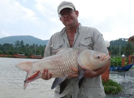 Fishing at Topcats Fishery Koh Samui Thailand