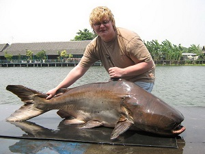 Fishing for Giant Carp and Catfish