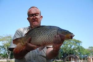Fishing in Chiang Mai Dream Lake