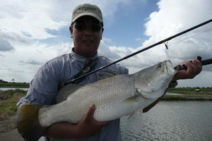 Fly Fishing Barramundi Bangkok