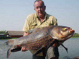 Thai Carp Fishing in Bangkok Bungsamran