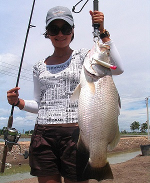 Thailand Barramundi fishing tour