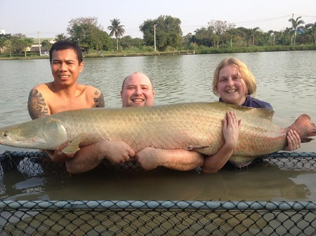 Thailand angling IT Lake Monsters