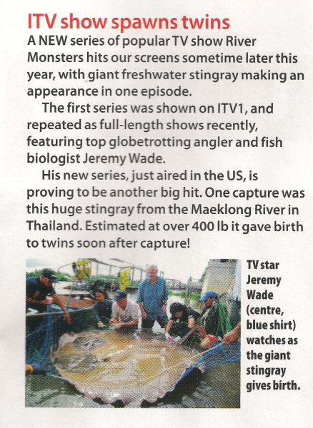 anglers mail jeremy wade